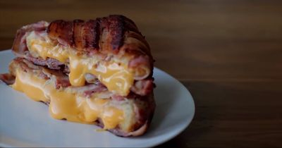 Das beste Sandwich der Welt: Käse & Bacon
